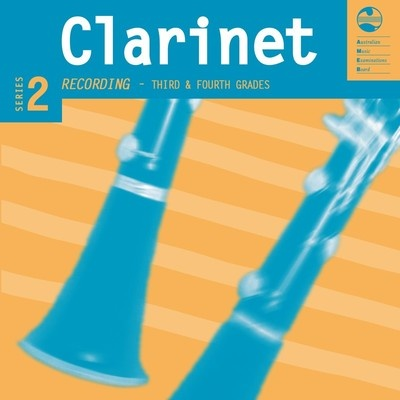 AMEB Clarinet Grades 3 & 4 Series 2 CD and Notes