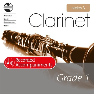 Clarinet Series 3 Grade 1 Recorded Accompaniments