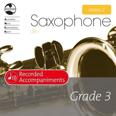 Alto Sax Series 2 Grade 3 Recorded Accompaniments