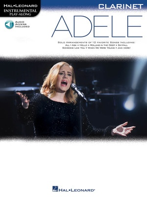 Adele Play-Along - Clarinet