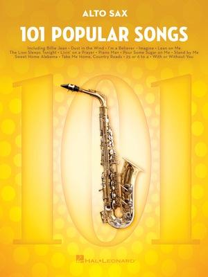 101 Popular Songs for Alto Sax