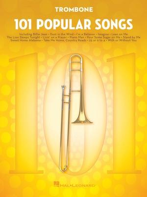 101 Popular Songs for Trombone