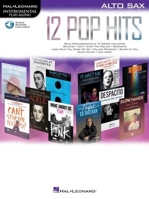 12 Pop Hits - Alto Saxophone