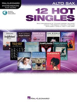 12 Hot Singles for Alto Sax