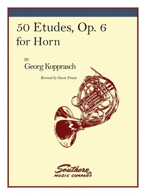 50 Etudes Op 6 For Horn (Kopprasch)