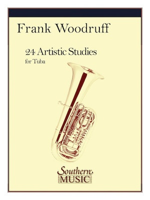 24 Artistic Studies For Tuba (Pod) (Woodruff)