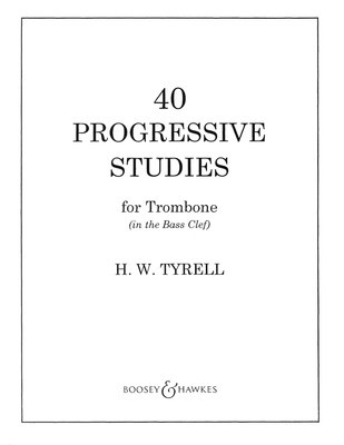 40 Progressive Studes Trombone
