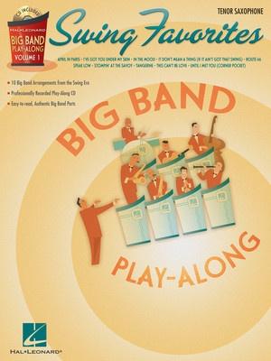 Big Band Play Along V1 - Swing Favorites for Tenor Sax