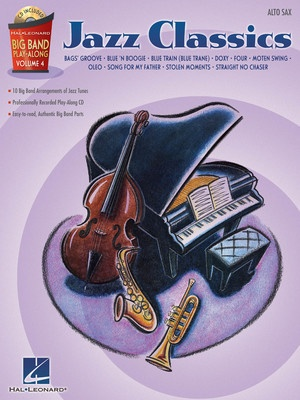 Big Band Play Along V4 - Jazz Classics for Alto Sax