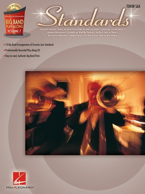 Big Band Play Along V7 - Standards for Alto Sax