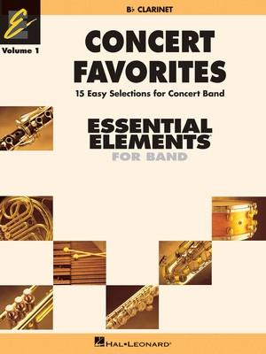 Concert Favorites Vol. 1 - Bb Clarinet