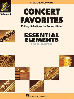 Concert Favorites Vol. 1 - Eb Alto Sax