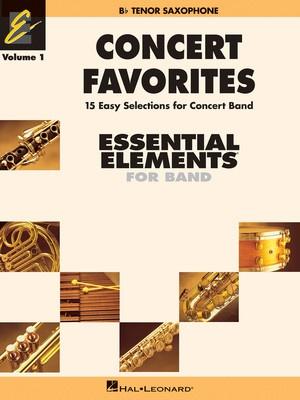 Concert Favorites Vol. 1 - Bb Tenor Sax