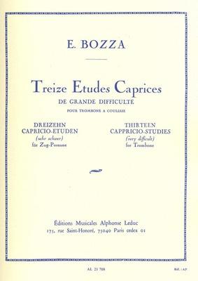 13 Etudes Caprices De Grand Difficulte Trombone