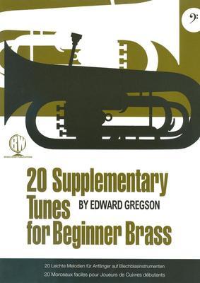 20 Supplementary Tunes for Beginner Brass - Bass Clef