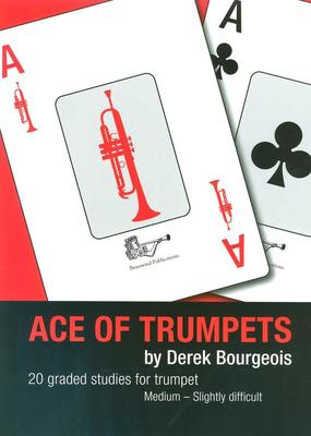 Ace Of Trumpets 20 Graded Studies (Bourgeois)