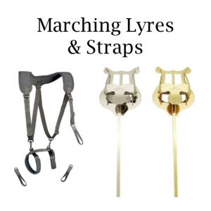 Marching Lyres & Straps