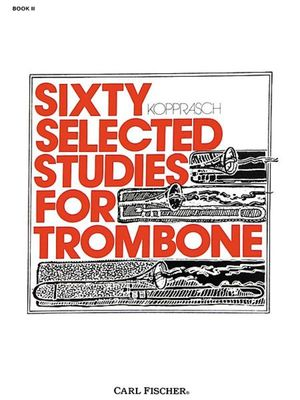 60 Selected Studies Bk 2 Trombone (Kopprasch)