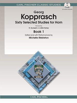 60 Selected Studies Bk 1 French Horn Bk/Cd (Kopprasch)