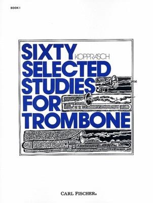 60 Selected Studies Bk 1 Trombone (Kopprasch)
