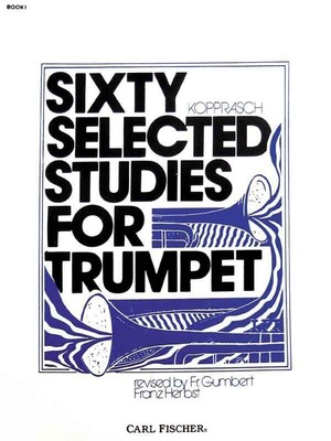60 Selected Studies Bk 1 Trumpet (Kopprasch)