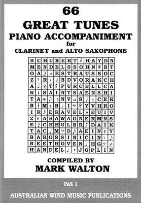 66 Great Tunes - Piano Accompaniment for Clarinet & Alto Sax