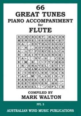 66 Great Tunes - Piano Accompaniment for Flute